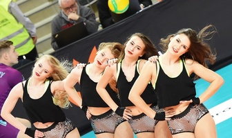 Bailando Cheerleaders na meczu Ligi Mistrzów Jastrzębski Węgiel - Zenit Kazań (galeria)