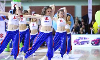 Cheerleaders Wrocław na finale Pucharu Polski (galeria)