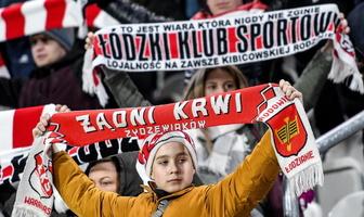 PKO Ekstraklasa: kibice podczas meczu ŁKS Łódź - Pogoń Szczecin (galeria)