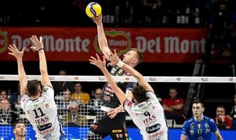 Puchar Włoch: Półfinał: Cucine Lube Civitanova - Itas Trentino 3:2 (galeria)