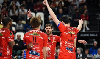 Puchar Włoch: Finał:  Cucine Lube Civitanova - Sir Safety Conad Perugia 3:2 (galeria)