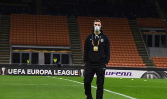 Liga Europy. Inter Mediolan - Ludogorec Razgrad. Świerczok w maseczce, puste San Siro (galeria)