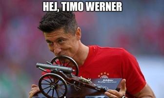 Robert Lewandowski znowu straszy. Zobacz memy po świetnym meczu Polaka