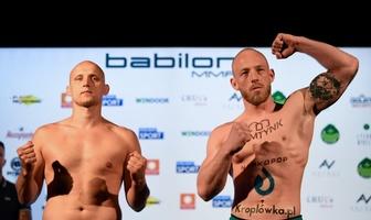 Oficjalne ważenie przed galą Babilon MMA 14 (galeria)