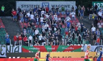 Fortuna I liga: kibice wrócili na Stadion Ludowy. Fani podczas meczu Zagłębie - Odra Opole (galeria)
