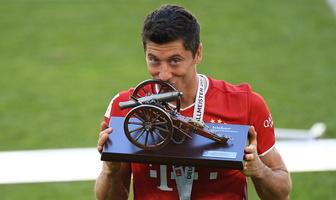 Bundesliga. Bayern mistrzem, Lewandowski królem. Zobacz świętowanie (galeria)
