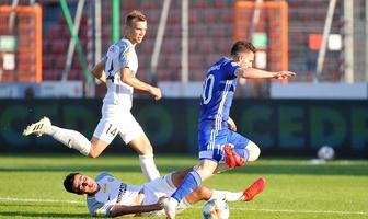 Fortuna I liga. Puszcza Niepołomice - Miedź Legnica 0:1 (galeria)