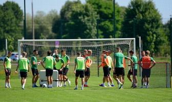 Fortuna 1 liga: GKS Bełchatów trenuje przed nowym sezonem [GALERIA]
