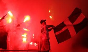 Kibice na meczu GKS Bełchatów - Legia Warszawa (galeria)
