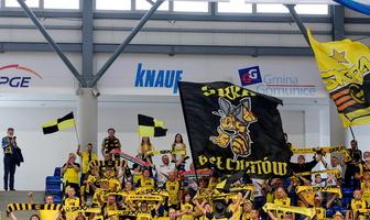 Plusliga: kibice na meczu PGE Skra Bełchatów - Aluron CMC Warta Zawiercie (galeria)