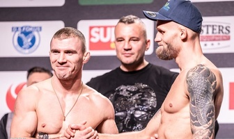 Ceremonia ważenia przed FEN 31: Lotos Fight Night (galeria)
