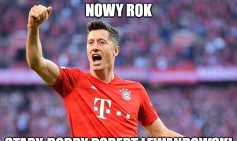 """Bundesliga. """"Nowy rok, stary Robert Lewandowski"""". Memy po meczu Bayern - Mainz"""