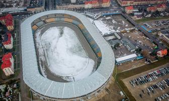 Zimowy stadion Stali Gorzów