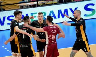 Liga Mistrzów: PGE Skra Bełchatów - Lindemans Aalst 3:1 (galeria)