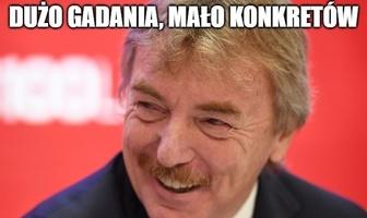 """""""Wporzo gościu, nie to co Jurek"""". Memy po pierwszej konferencji Paulo Sousy"""