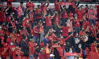 KMŚ. Powrót normalności na trybunach. Fani bawią się na meczu Al Ahly Kair - Bayern Monachium