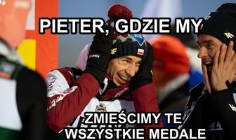 """""""Debeściaki"""", """"chłopaki lubią brąz"""". Zobacz memy po medalach dla polskich skoczków"""