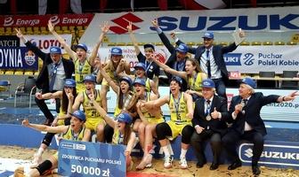 Dekoracje i radość po Suzuki Pucharze Polski Kobiet (galeria)