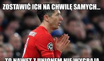 """""""Robert, zrób coś, proszę..."""". Zobacz memy po remisie Bayernu Monachium"""