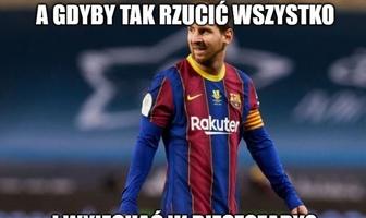 """""""Wyjedzie w Bieszczady?"""". Leo Messi wielkim przegranym El Clasico"""