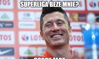 Śmiech Lewandowskiego i pierwszy sukces Bońka. Memy po zamieszaniu ws. Superligi