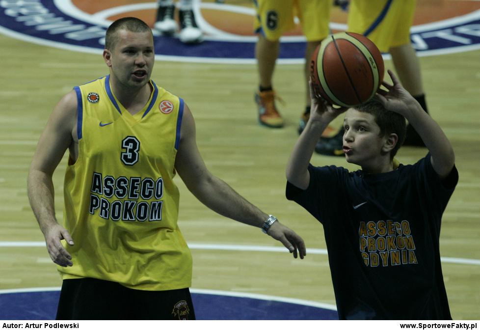 Asseco Prokom Gdynia - CSKA Moskwa 65:74
