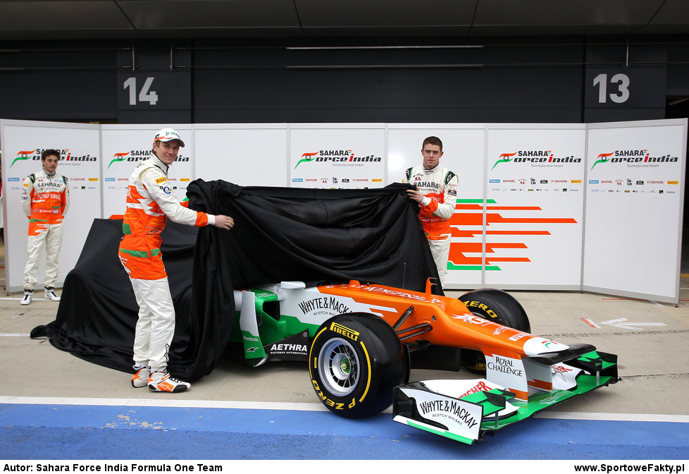 Prezentacja  Sahara Force India
