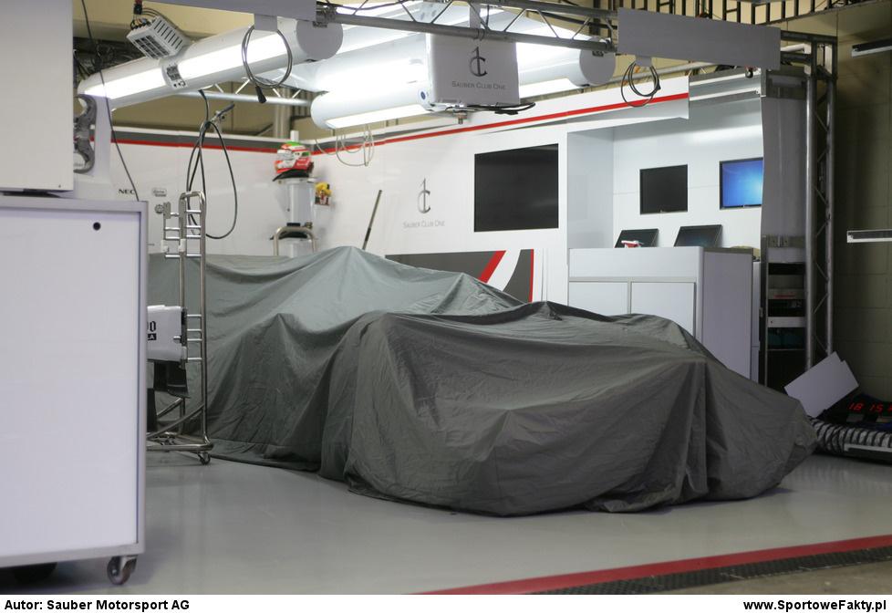 Prezentacja Sauber F1 Team