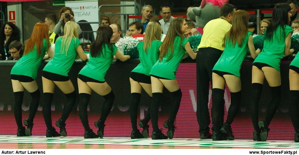 Cheerleaders Zastal & Cheerleaders Prokom