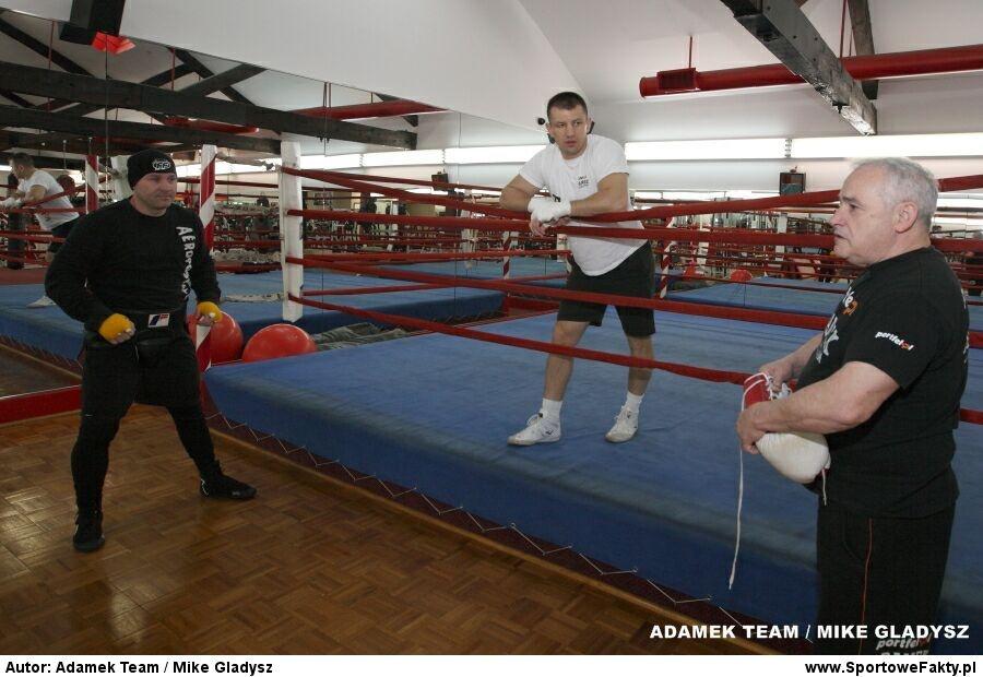 Trening Tomasza Adamka