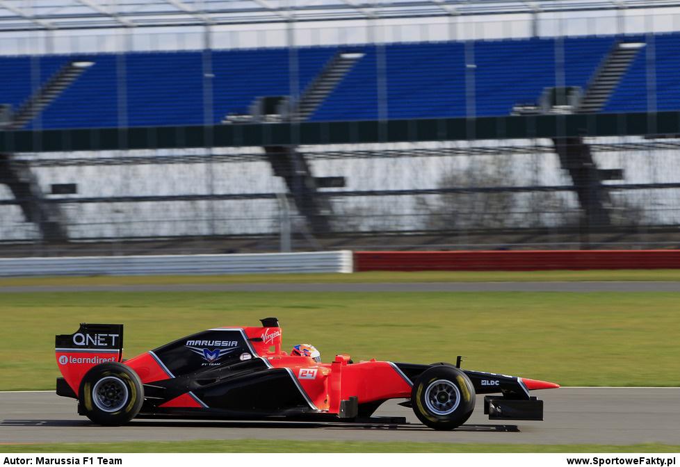 Prezentacja Marussia F1 Team