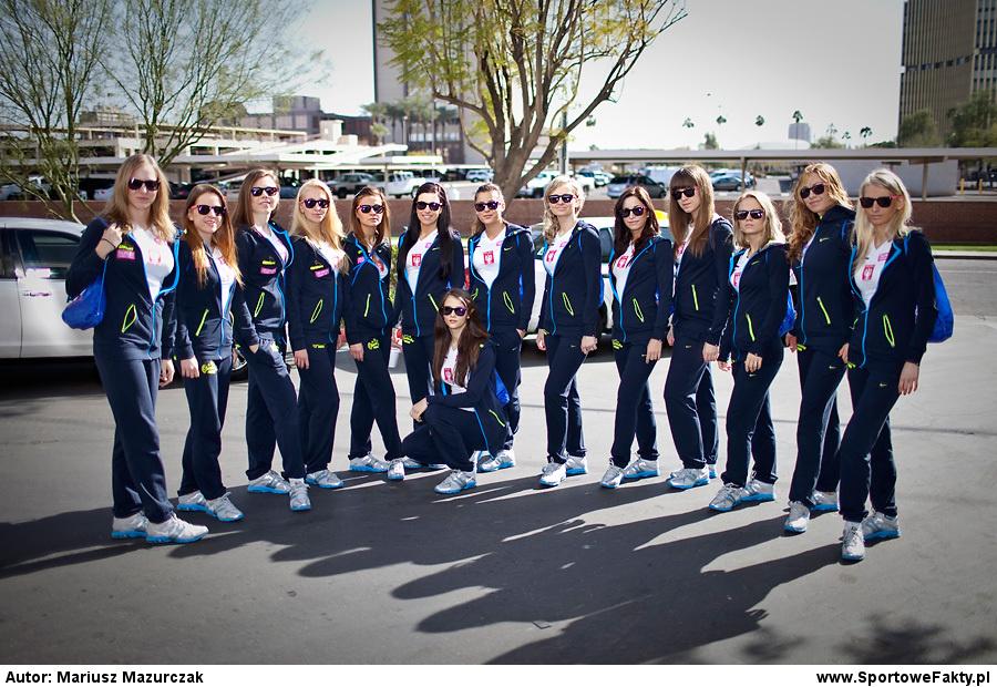 Cheerleaders Prokom podczas
