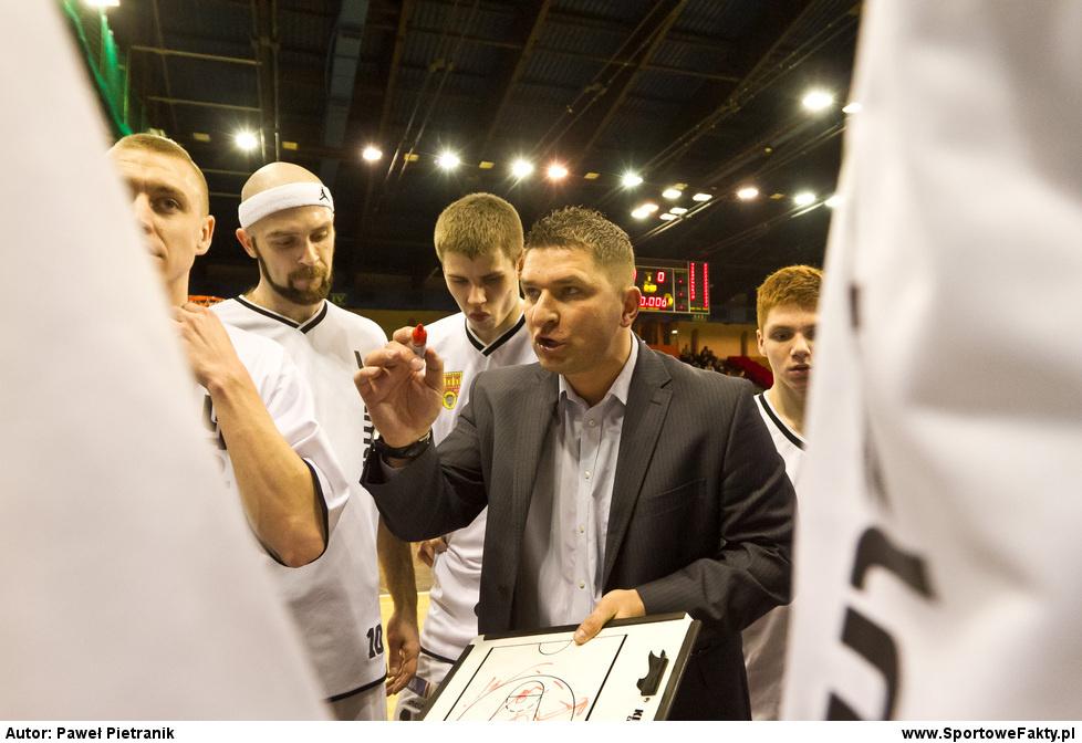 Znicz Basket Pruszków - Spójnia Stargard Szczeciński 73:54