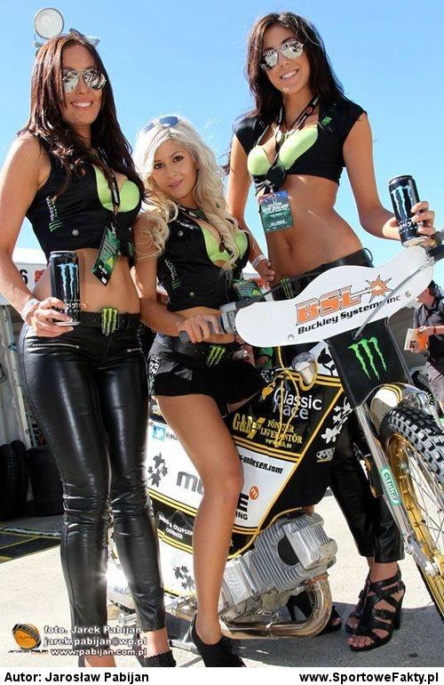 Monster Girls na GP Nowej Zelandii