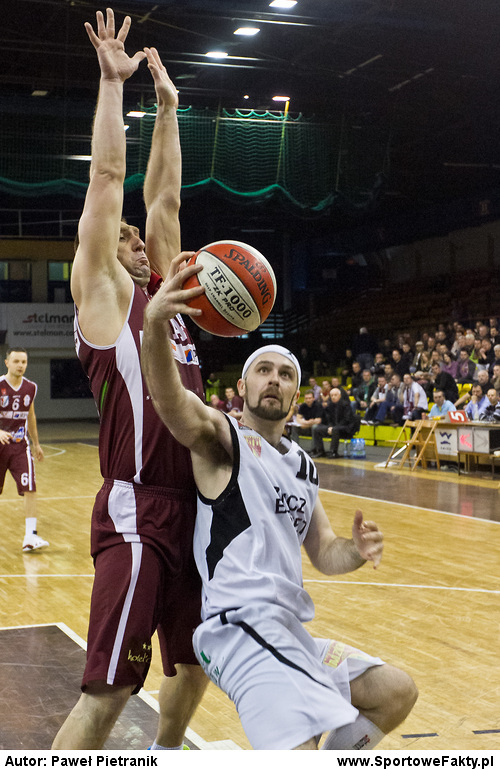 Znicz Basket Pruszków - Spójnia Stargard Szczeciński 80:64 (1. mecz play-off)