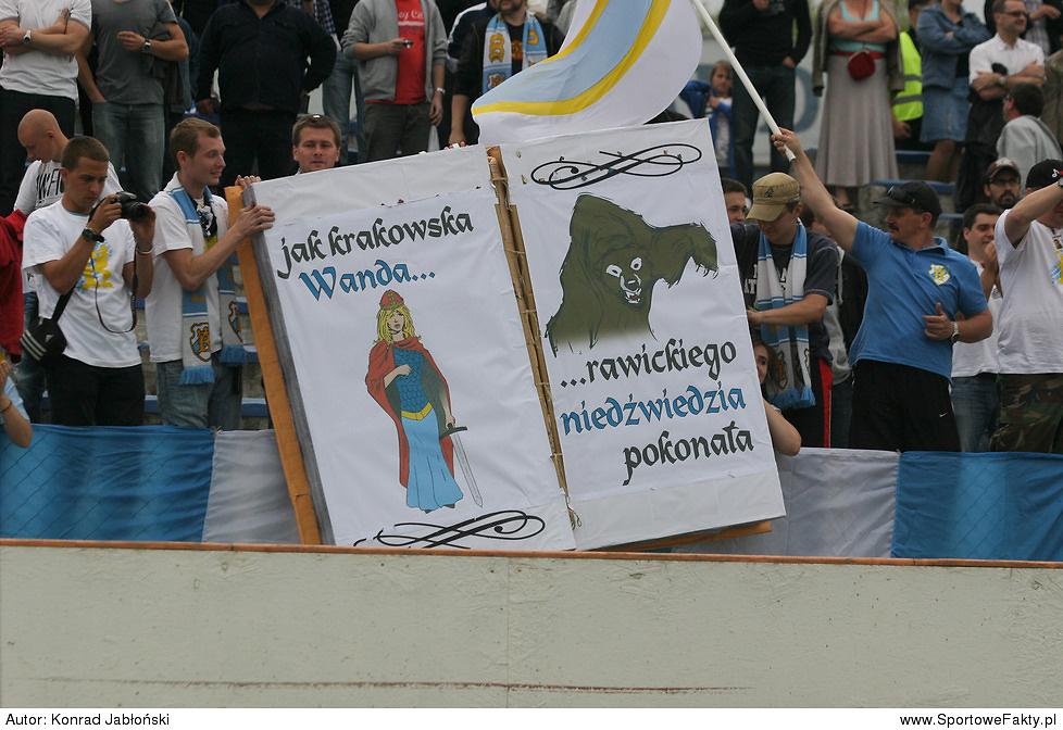Speedway Wanda Kraków - Kolejarz Rawag Rawicz 53:37