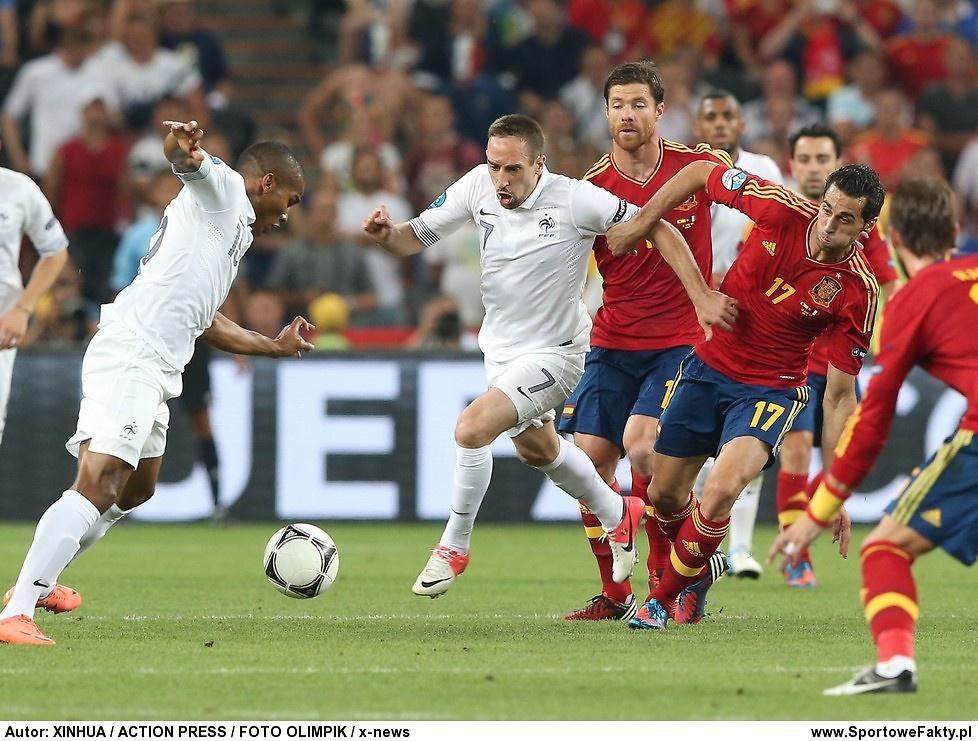 Hiszpania - Francja 2:0