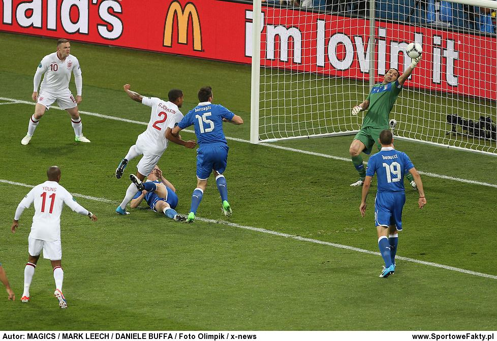 Anglia - Włochy 0:0, k. 2:4