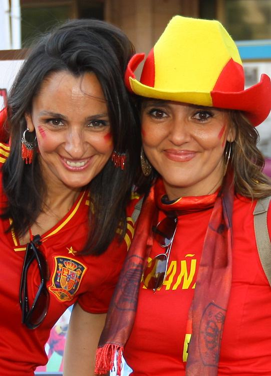 Kibice na finale Euro 2012