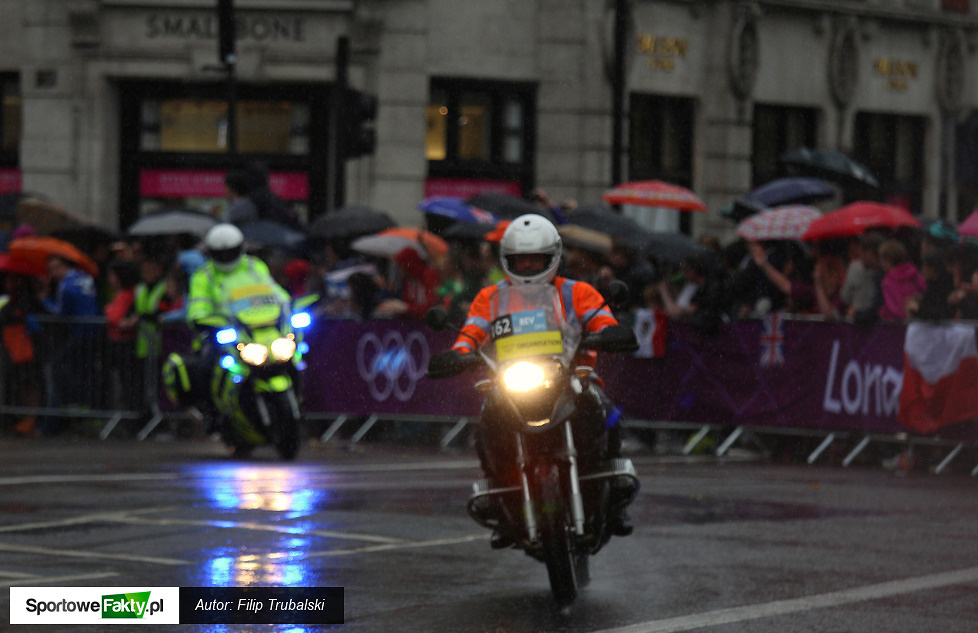 Wyścig szosowy kobiet Londyn 2012