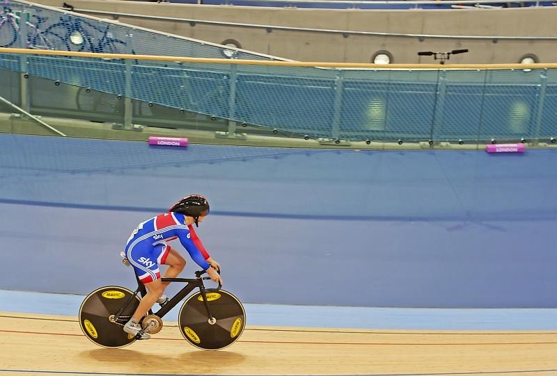 Chris Hoy - złoty medal w kolarstwie torowym / © Mark Eaton | Dreamsti...