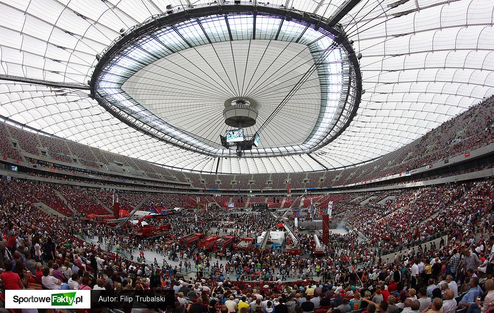 Pokaz Stihl Timbersports na Stadionie Narodowym