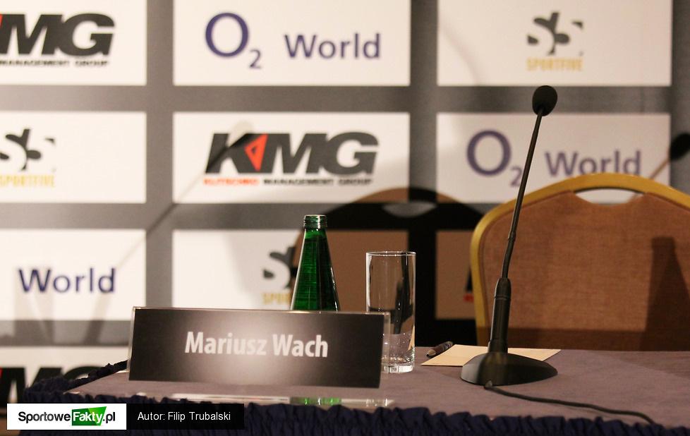 Konferencja prasowa przed walką Wach - Kliczko