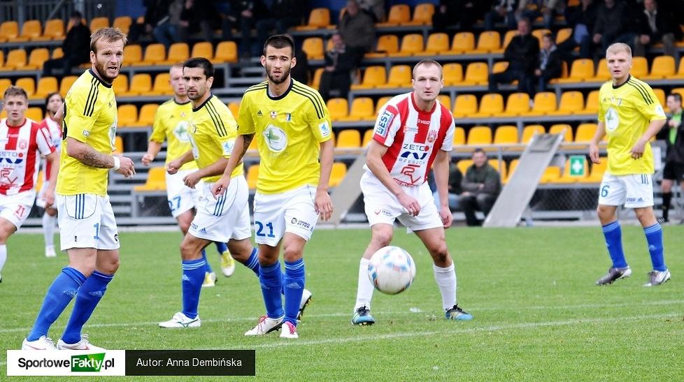 Olimpia Elbląg - Resovia Rzeszów 1:0