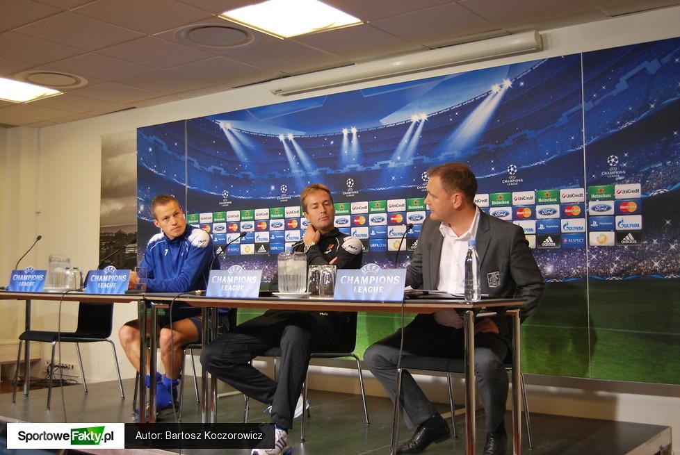 FC Nordsjaelland - Chelsea Londyn - konferencja i trening