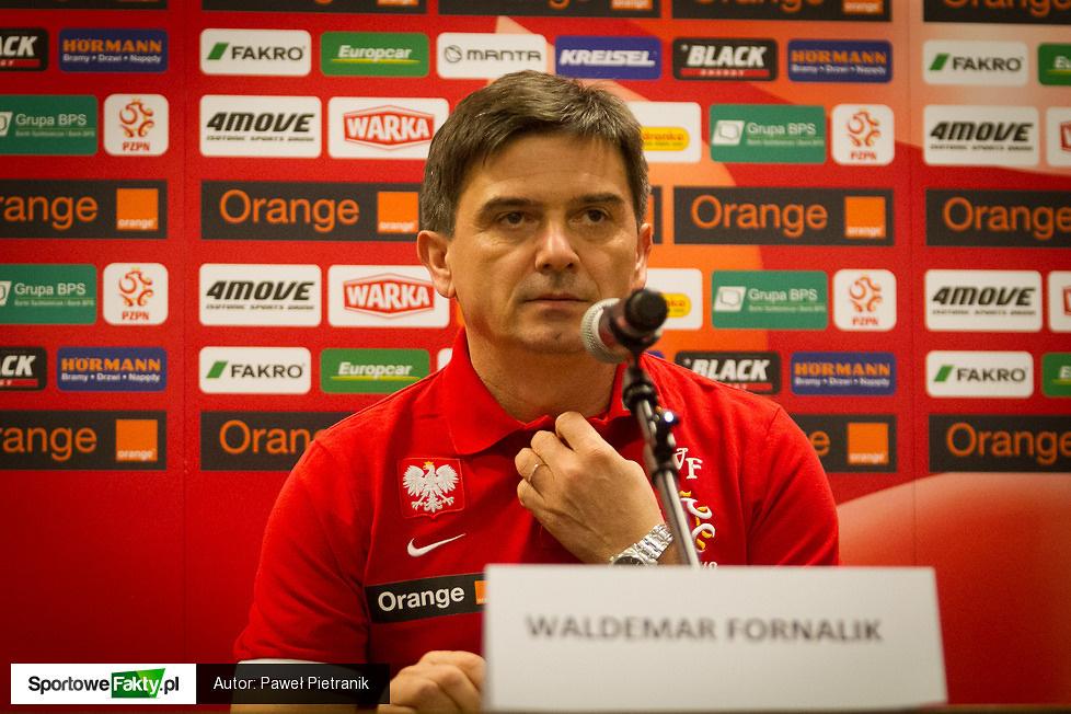 Konferencja prasowa Waldemara Fornalika