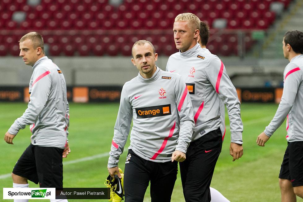 Trening polskiej kadry