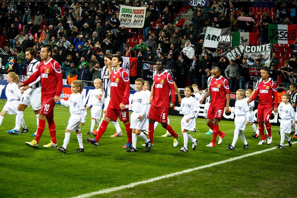 FC Nordsjaelland - Juventus Turyn1:1, cz. 1