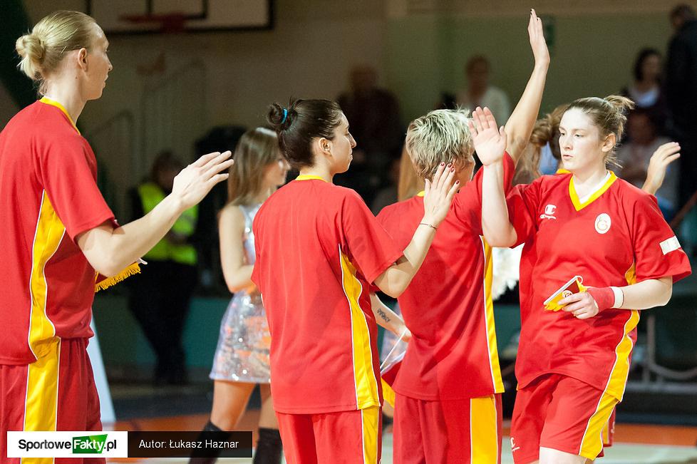 CCC Polkowice - Galatasaray Stambuł 48:50