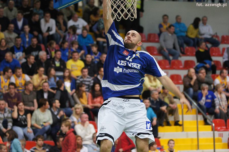 AZS WSGK Polfarmex Kutno - WKS Śląsk Wrocław55:96